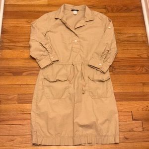 J Crew women's shirt dress